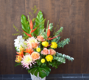 南麻布開店祝い花