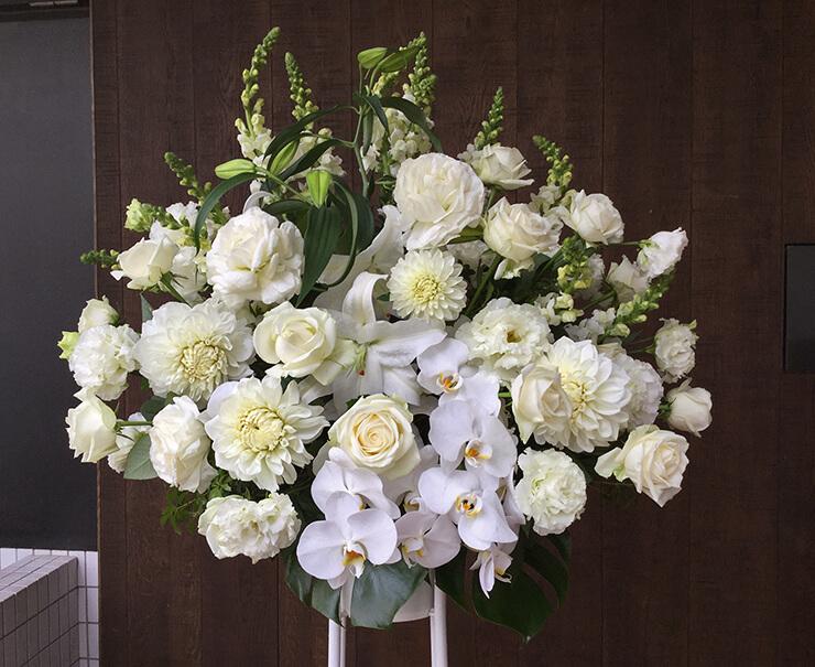 あうるすぽっと 松田岳様舞台出演祝いスタンド花