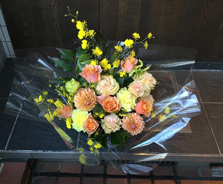 出産祝い花