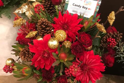 CANDY BOY様クリスマスイベント花