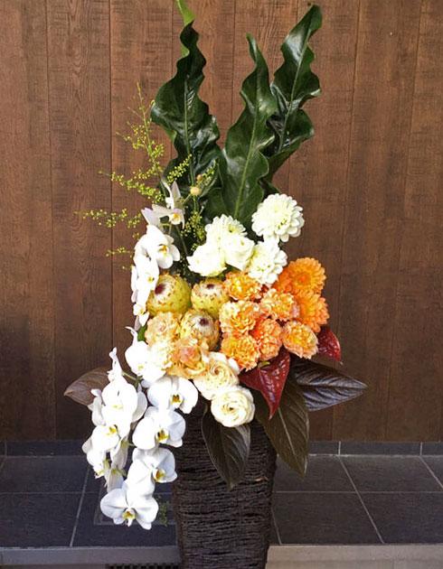 銀座に贈るスタンド花