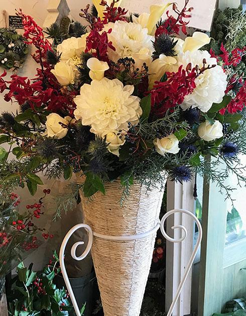 お台場に贈るスタンド花