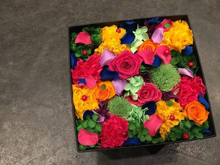 八王子市お礼の花