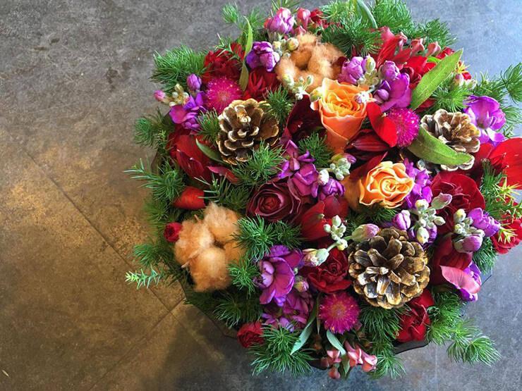 八王子市 母親への誕生日プレゼント花