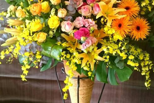 練馬文化センター こぶしホールイベントコーンスタンド花