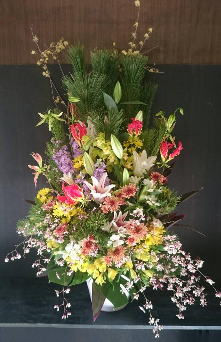 練馬区 成人式祝い花