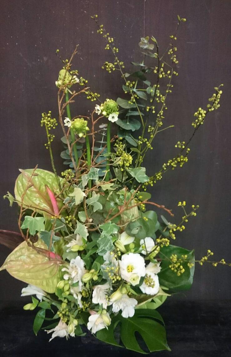 練馬区 イタリアンレストラン開店祝い花
