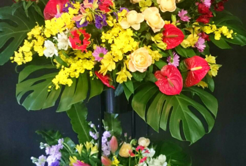 練馬区 飲食店開店祝いスタンド花