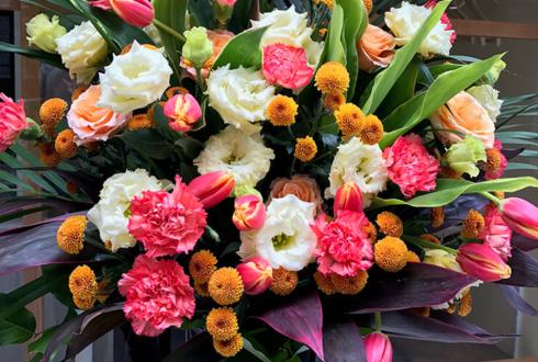品川区美容室開店祝いスタンド花