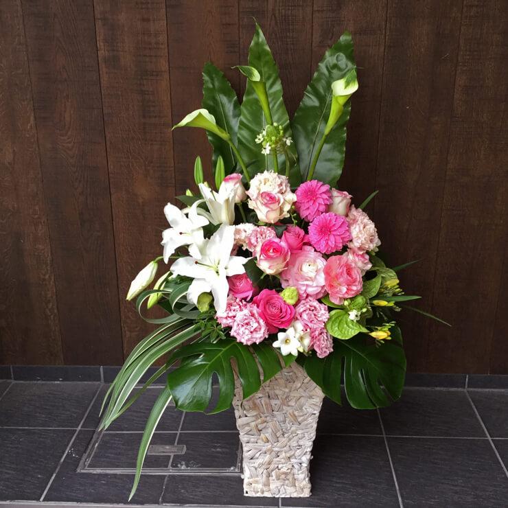 渋谷区神宮前リニューアルオープン祝い花