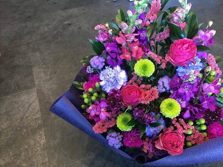 卒業祝い花