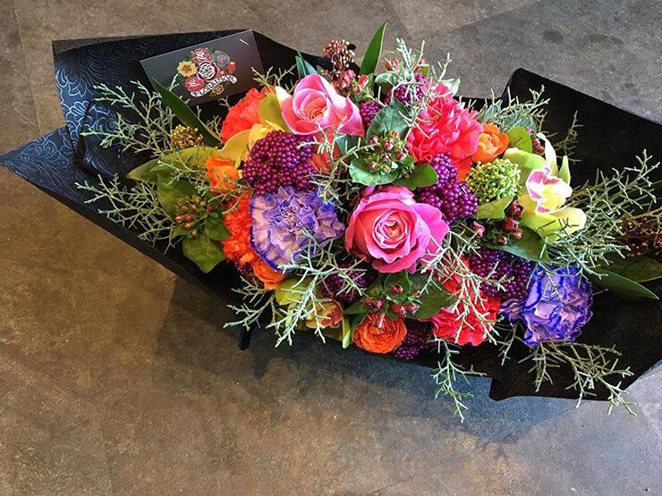 八王子 誕生日祝い花