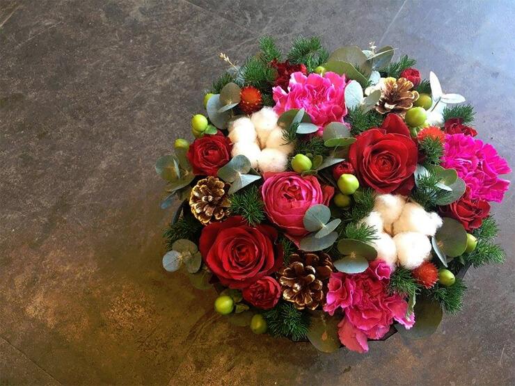 八王子クリスマスプレゼント花