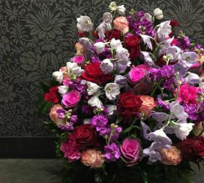 八王子市周年祝い花