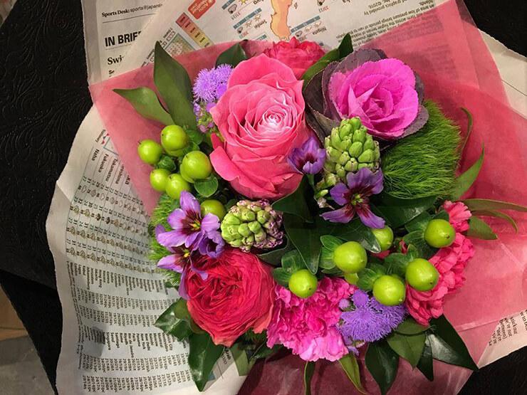 オリンパスホール八王子バレエ発表会花束