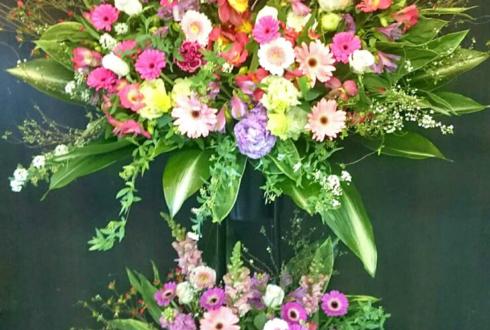 練馬区 美容室様の開店祝いスタンド花
