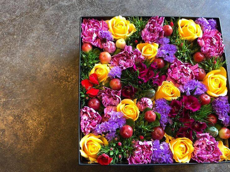 八王子市 誕生日プレゼント花 boxflower