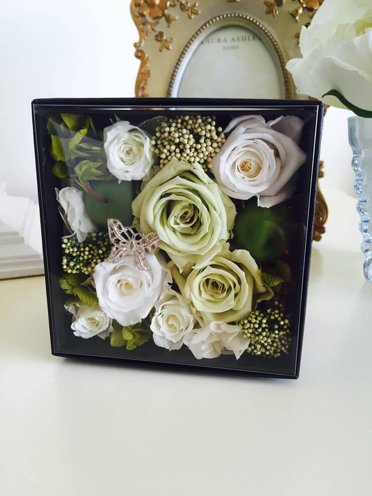 川崎市 誕生日プレゼント花 プリザーブドフラワー