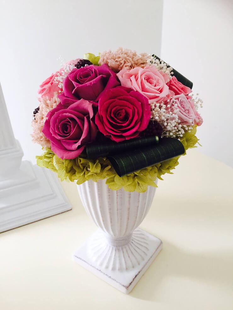 引っ越し祝い花 プリザーブドフラワー