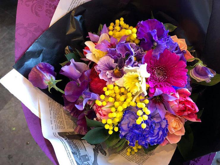 八王子市誕生日プレゼント花束