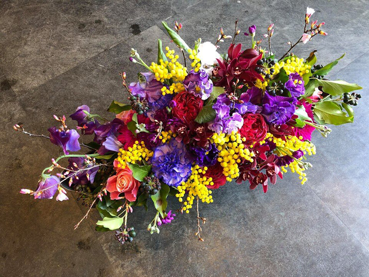 赤坂総合法律事務所様の移転祝い花