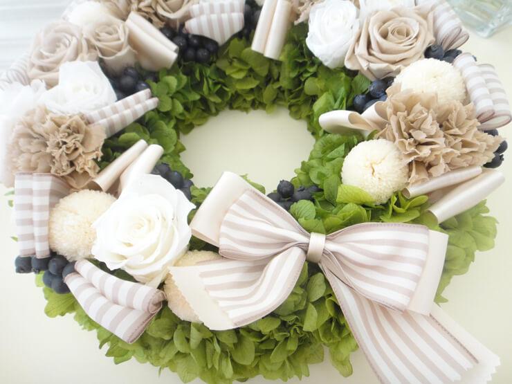 墨田区 結婚記念日プレゼントの花 プリザーブドフラワー