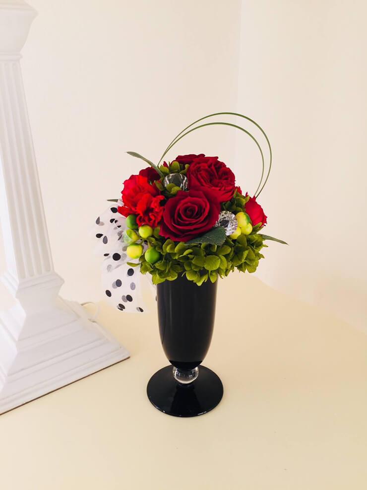 川崎市 誕生日プレゼントの花 プリザーブドフラワー