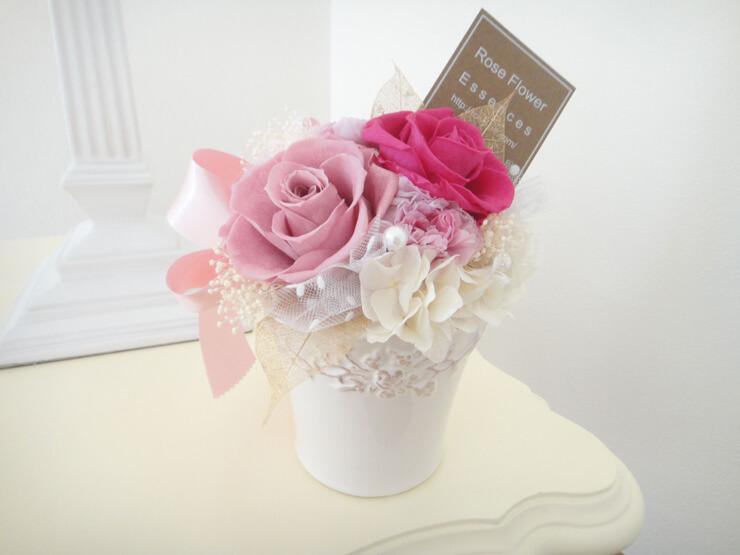 中央区 結婚祝いの花 プリザーブドフラワー