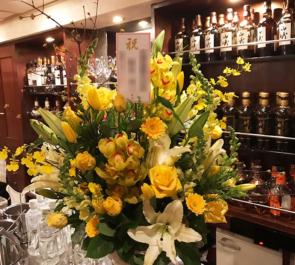 銀座 M GRAN様の周年祝い花