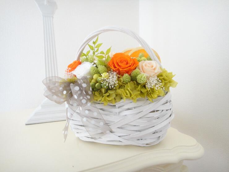 墨田区 結婚記念日に贈り物の花 プリザーブドフラワー