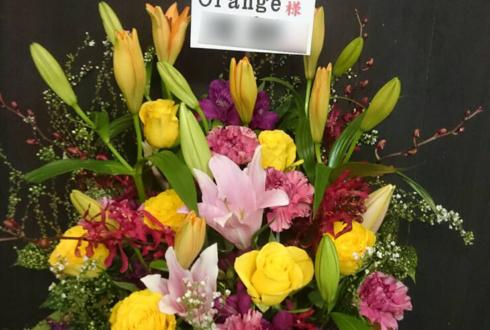 練馬区豊玉 Orange様の7周年祝い大きめアレンジメント