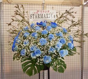 中野サンプラザホール STARMARIE様ライブブルースタンド花