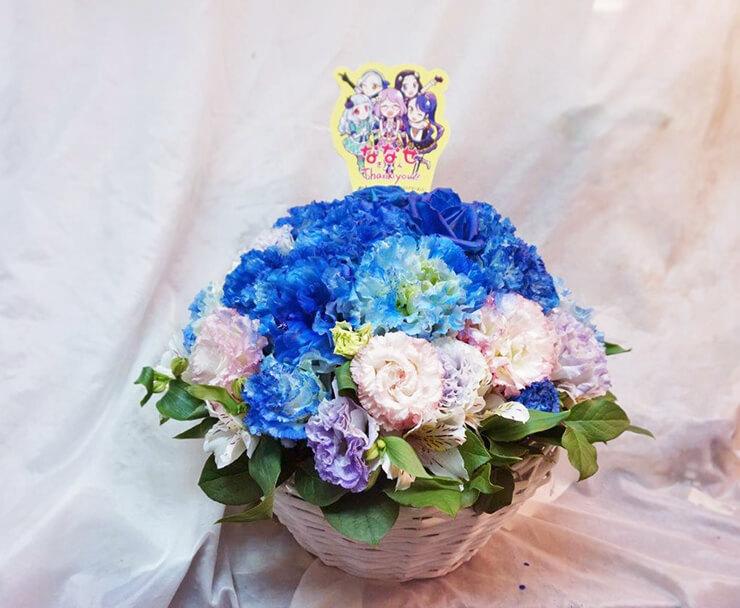 日本武道館 AIKATSU☆STARS!松岡ななせ様のライブ楽屋花