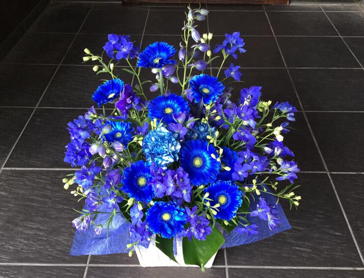 麻布十番喜寿祝花