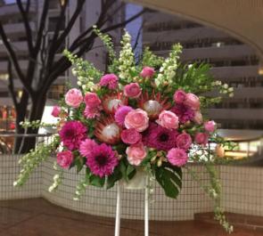 miracle六本木様の開店祝いスタンド花