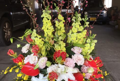 谷中 澤の屋様の新築祝いエントランスロビー花