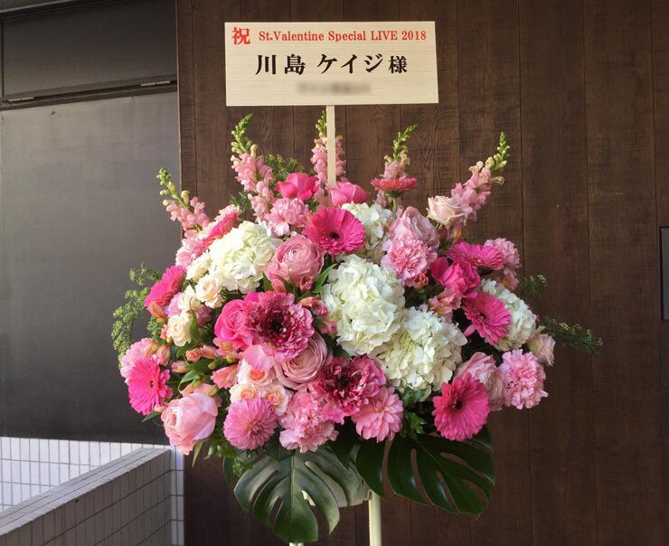 目黒BLUES ALEEY JAPAN 川島ケイジ様ライブスタンド花
