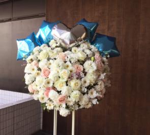 新宿ReNY ADDICTION樣の1stコンサートハートスタンド花