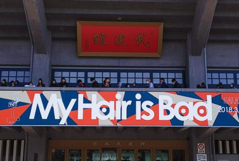 日本武道館 My Hair is Bad様のライブスタンド花
