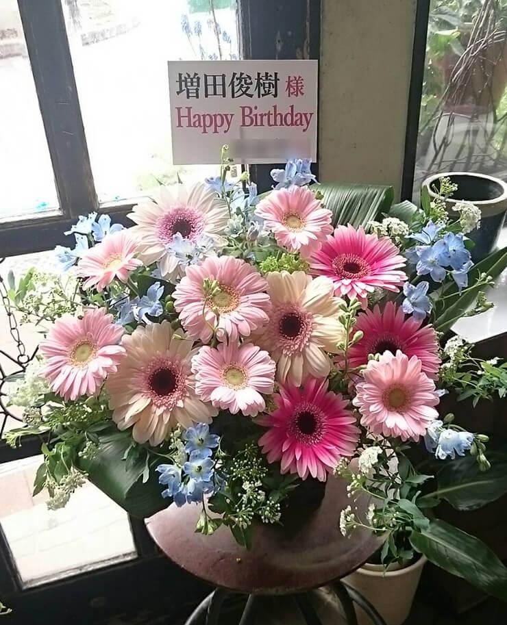 中野サンプラザ 増田俊樹様の誕生日イベント楽屋花
