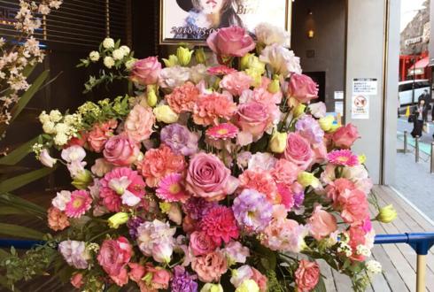 TSUTAYA O-EAST DEZERT 千秋様のライブスタンド花3段