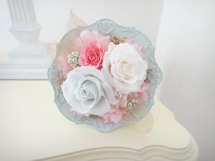 愛媛県松山市 母の日の贈り物にプリザーブドフラワー