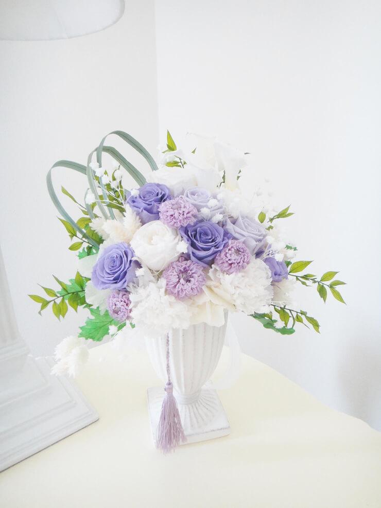 東久留米市 お悔やみの花 プリザーブドフラワー