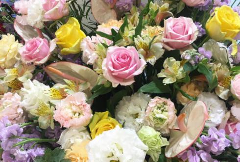 日産プリンス西東京株式会社 稲城店様の移転祝い&リニューアルオープン祝いスタンド花