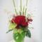 中央区 クラブF様の開店祝い花 プリザーブドフラワー