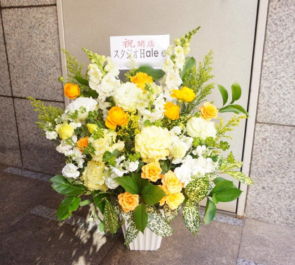 新宿区 神楽坂 開店祝い花