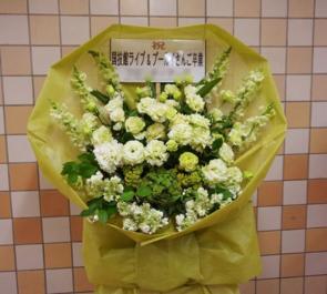 両国国技館 Bis様のワンマンライブ&プー・ルイ様卒業公演 花束風スタンド花 Green