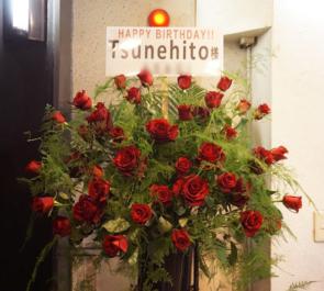 目黒鹿鳴館 Tsunehito様のバースデーライブスタンド花