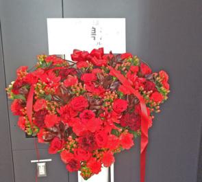 よみうり大手町ホール 今川碧海様の舞台ハートスタンド花