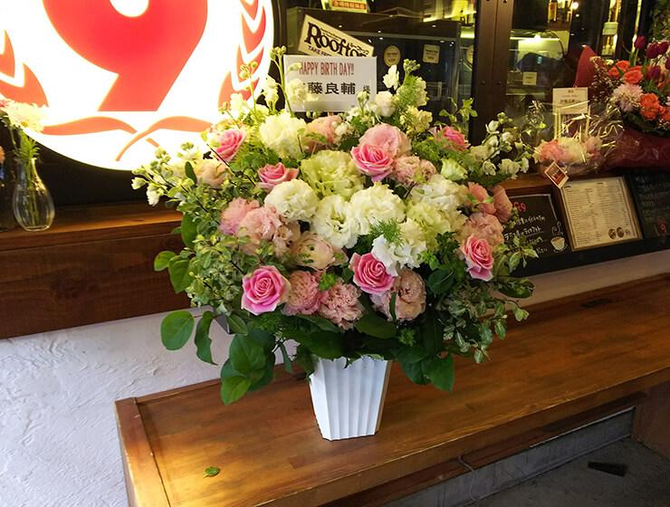 LOFT9 Shibuya 加藤良輔様のバースデーイベント祝い楽屋花